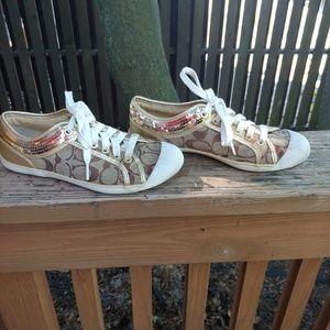 "Coach canvas ""ZORRA"" sneakers"